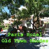 Paris Hotel, Old town Rhodes, Rhodes, Greece